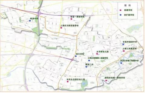 学区房先别买!看看上海新开160多所学校都在哪?